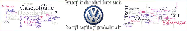 experti decodari casetofoane navigtii auto volkswagen